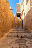 Old street of jaffa. Stock Photography