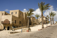 Old street of Jaffa Stock Images