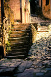 Old street of Kotor Stock Images