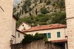 Old street of Kotor. Stock Image