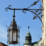 Old street lamp Royalty Free Stock Images