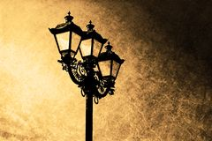 Old street lamp Royalty Free Stock Photo