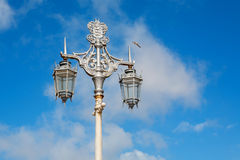 Old street lamp. Brighton, England Stock Photography