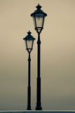 Old street-lamp Stock Photography