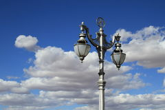 Old street lamp in Kimberley Stock Photography