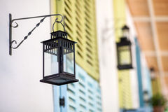 Old street lamp (lantern). Stock Images