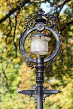Old street lamp in nature Royalty Free Stock Image