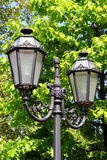 Old street lamp in the old town of Odessa, Ukraine Stock Images