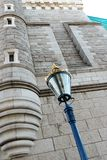 Old street lamp at Tower Bridge Stock Photos