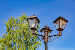 Old street lamp Stock Images
