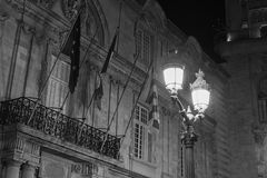 Old street lamps Stock Images