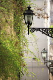 Old street lamps Royalty Free Stock Photography