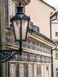 Old street lantern in Prague Stock Photos