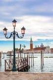 Old street lantern in Venice, Italy Stock Image