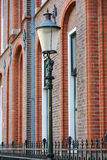 Old Street light in Amersfoort Royalty Free Stock Photo