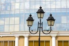 Old Street light european Stock Photos