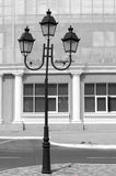 Old Street light european Royalty Free Stock Images