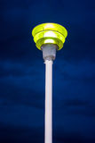 Old Street light. On the sky background Royalty Free Stock Images