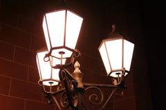 Old street lights Stock Photos