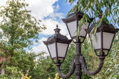 Old street lights for Stock Photo