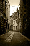 Old street in Lille, France Stock Photos
