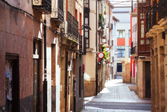 Old  street in  Logrono Royalty Free Stock Image