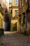 Old street, Lublin, Poland Stock Images