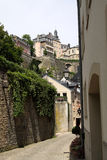 Old street in Luxembourg Stock Photo