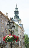 Old street of Lviv. Stock Images