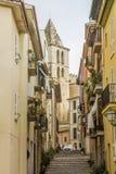 Old street in Mallorca, Spain Royalty Free Stock Photos