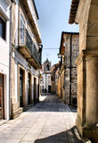 Old street of Melgaco Stock Image