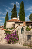 The old street in Montenegro Royalty Free Stock Photos