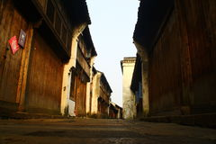 Old street Royalty Free Stock Images