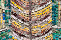 Old street mosaic Stock Photos