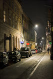 Old street at night Royalty Free Stock Image