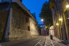 Old street at night Royalty Free Stock Photos