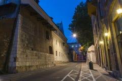 Old street at night Royalty Free Stock Photos