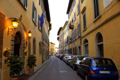 Old street Pisa Italy Stock Images