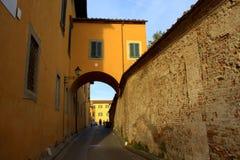 Old street Pisa Italy Stock Photography