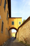 Old street Pisa Italy Royalty Free Stock Image