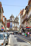 Old street in Porto Royalty Free Stock Photos