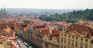 Old street in Prague Royalty Free Stock Photos
