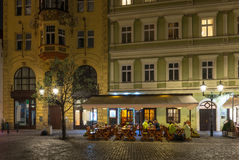Old street in Prague. Czech Republic Royalty Free Stock Images