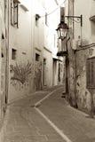 Old street of Rethymnon Royalty Free Stock Photos