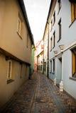 Old street in Riga Stock Image