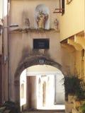 Old Street Rodez, France Stock Photos