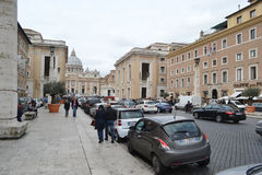 Old street of Rome city Stock Photography