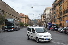 Old street of Rome city Stock Photos