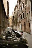 Old street in Rome, Italia Stock Image