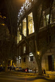 Old street in Rome. Old street of Rome at night, Italy Royalty Free Stock Images